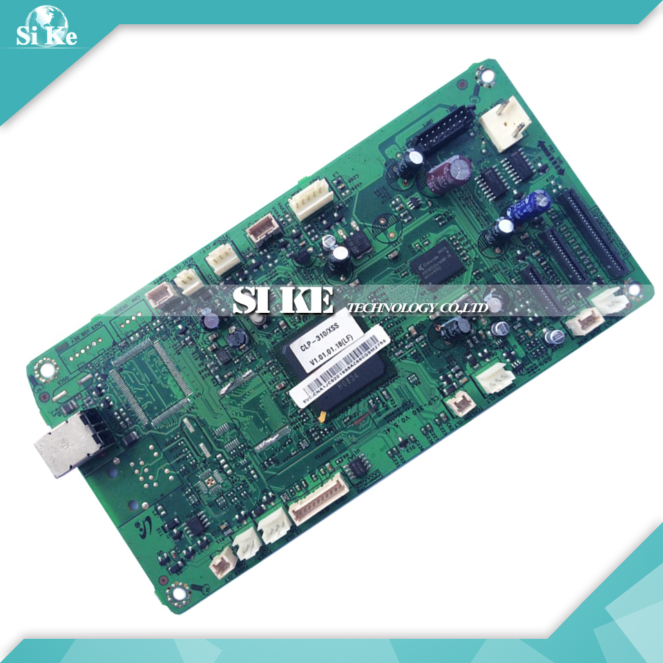 Laser Printer Main Board For Samsung CLP-310 CLP-320 CLP 310 320 CLP320 CLP310 Formatter Board Mainboard Logic Board printer power board for samsung clp 320 clp 321n clp 321 clp 325 clp 326 clp 326w clp 320 321 325 326 power supply board on sale