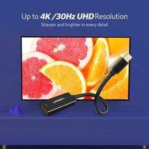 Image 2 - Cabo adaptador dp para hdmi ugreen, mini display de alta qualidade thunderbolt, porta dp para hdmi, para apple, mac, macbrook pro air