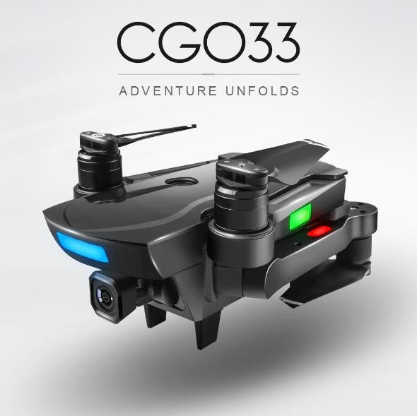 <font><b>CG033</b></font> Brushless FPV Quadcopter With 1080P HD Wifi Gimbal Camera Or No Camera RC Helicopter Foldable <font><b>Drone</b></font> GPS Dron Kids Gift image