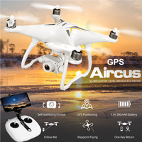 JJRC Дрон с GPS с камера HD 1080 P широкий формат объектив Регулируемый вертолет Wi Fi FPV системы Professional Follow селфи RC Quadcopter GPS