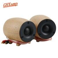 1Pairs Wooden Super Tweeter Speaker 8OHM 20W Dome Neodymium Treble Silk Diaphragm Home Theater Tweeter Compensation 30KHZ