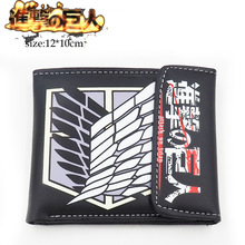 Attack on Titan Shingeki no Kyojin PU Leather Wallet Purse