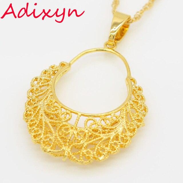 2017 new ethiopian gold pendant necklace women men gold color 2017 new ethiopian gold pendant necklace women men gold color exquisite jewelry arabic iran ethiopian african aloadofball Choice Image