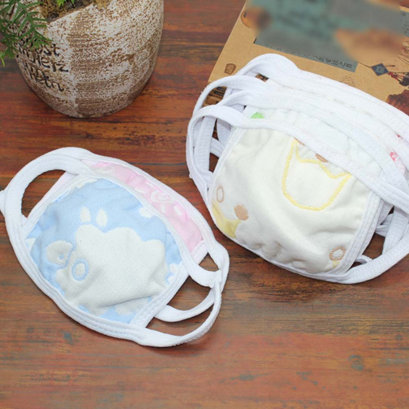 Accessories Symbol Of The Brand 1 Pcs Color Random Cartoon Cute Kids Cotton Pm2.5 Mask Anti-dust Mouth Mask Windproof Mouth-muffle Flu Face Mask To Enjoy High Reputation At Home And Abroad
