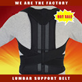 Ajustable de Neopreno Respaldo Postura Corrector de Postura Faja Cinturón para La Espalda de Formación de Seguridad Dorsal Ceinture Envío Libre
