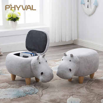 2018 Rushed No New Pouf Poire Taburetes Chair Wood Stools Stool Shoes Hippo Designer Furniture Sofa Storage Containing Modern - DISCOUNT ITEM  5% OFF All Category