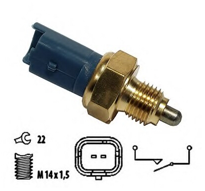 SKTOO Switch Reversing-Light FIAT for CITROEN Pulchritudinous 307-2.0 9659869680