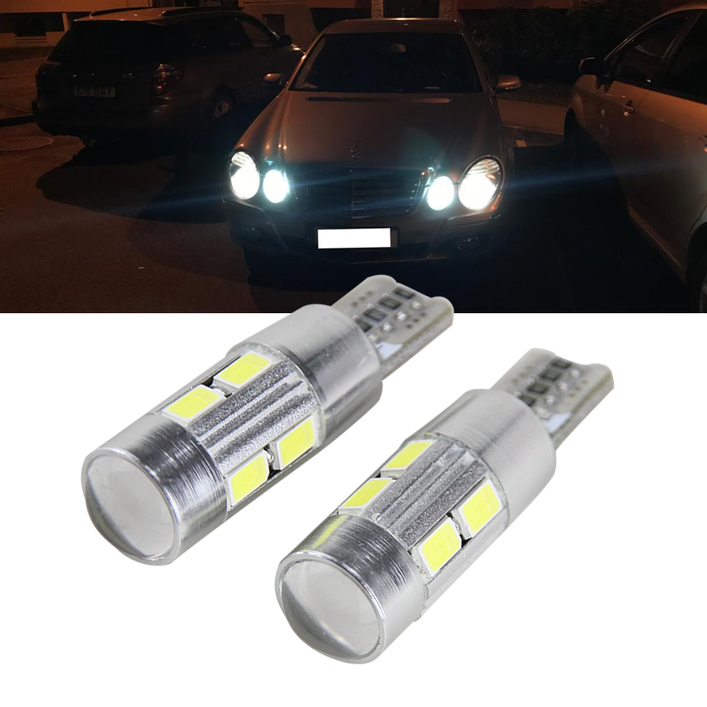 2x T10 194 168 W5W <font><b>LED</b></font> Bulb Sidelight No Error For Mercedes Benz <font><b>W202</b></font> W220 W124 W211 W222 X204 W164 W204 W203 W210 Parking Light image