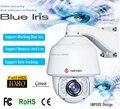 Nova auto tracking PTZ Câmera IP HD 1080 P Câmera de alta velocidade suporte blue iris e cartão de Memória de trabalho