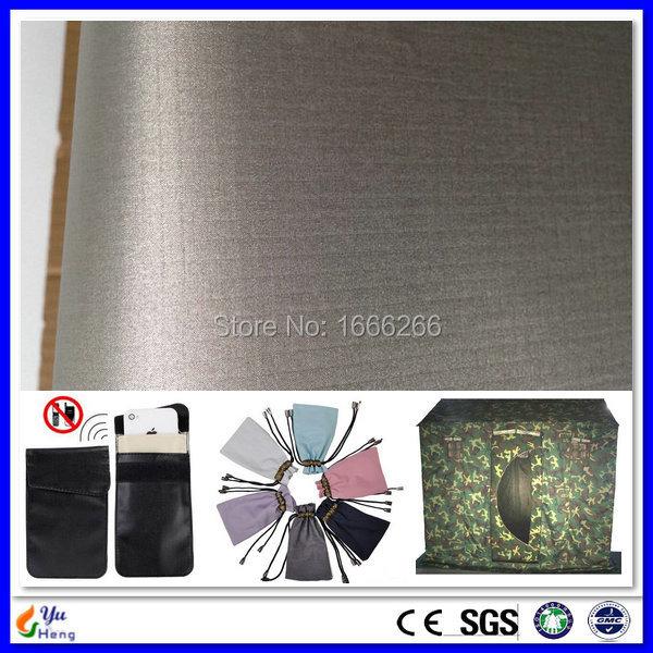 Rfid Signal Block Nickel Copper Electric vodivá tkanina