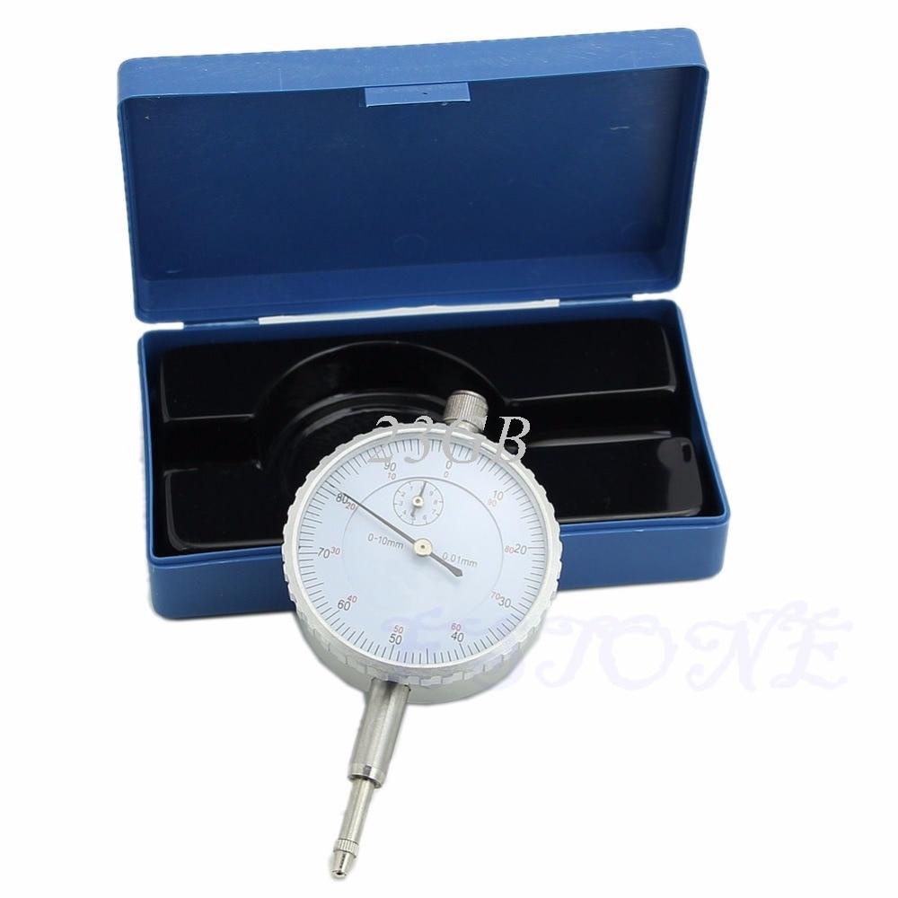 0-10mm Measurement Instrument Gauge Precision Tool Dial Indicator  APR06_17