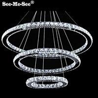 Moderno 9 k lustre de cristal led kroonluchter candelabro led lustre de cristal Lustres     -