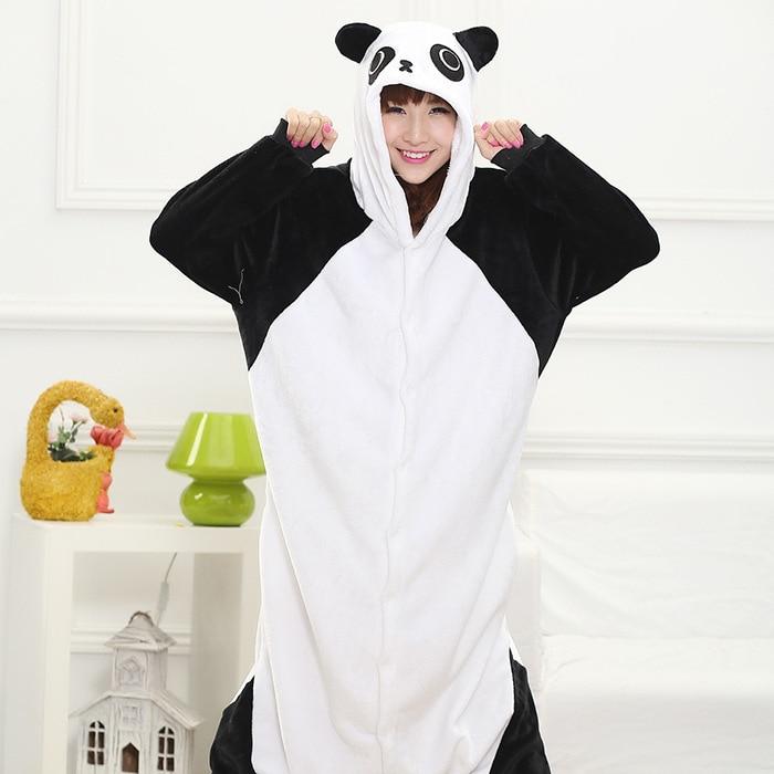 Cizgi film heyvanı birləşdirilmiş Panda pijama Unisex Animal - Karnaval kostyumlar - Fotoqrafiya 5