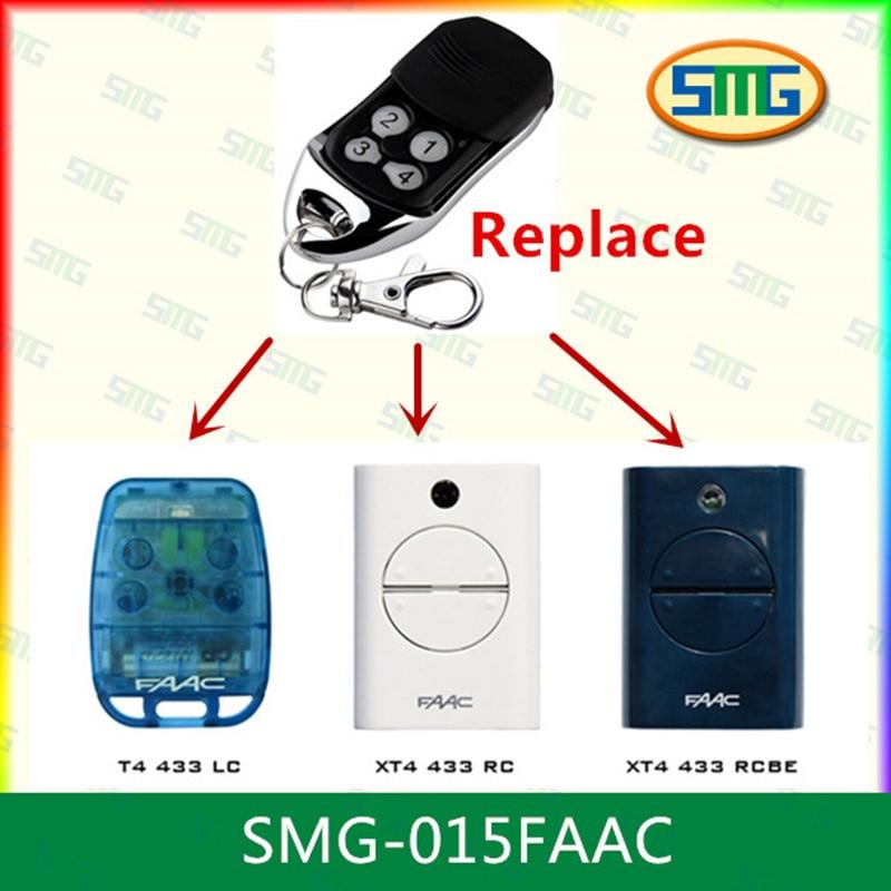 Scimagic Бесплатная доставка брелок Совместимость faac дистанционного управления faac xt4 433 RC 433 мГц 787452x2 шт.