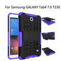 "Hybrid Stand Hard PC+TPU Rubber Armor Case Cover For Samsung GALAXY Tab4 7.0 T230 T231 T235 Tablet 7"" Protective case+film+OTG"