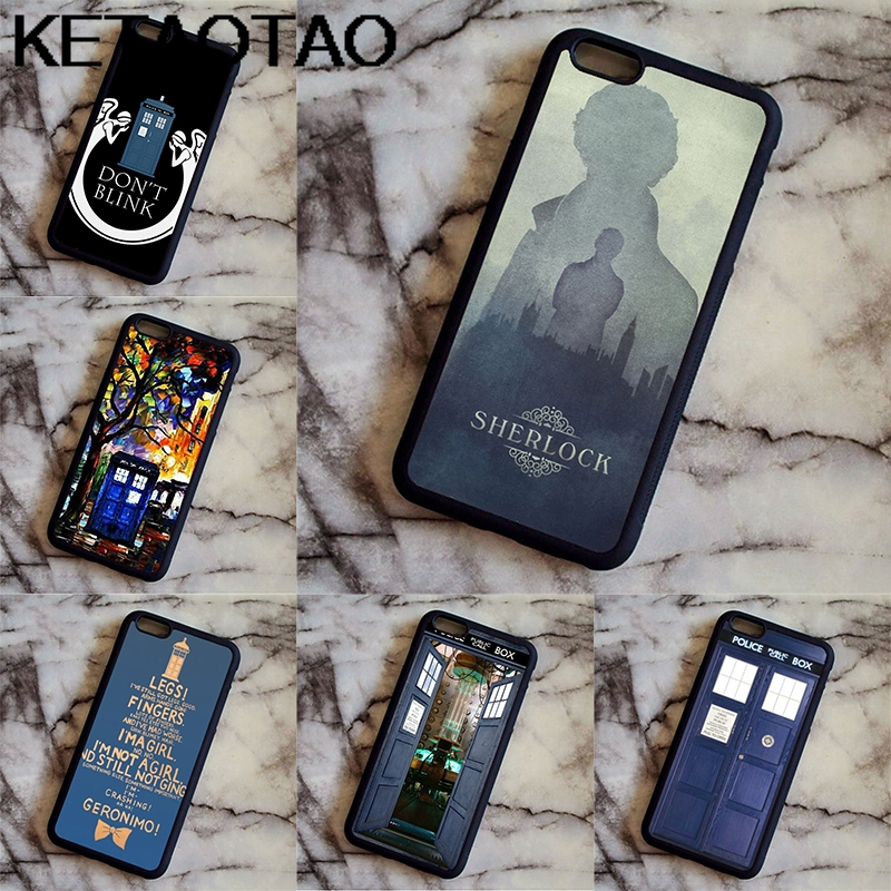 Phone Bags & Cases Provided Ketaotao Holmes Tardis Of Doctor Who Rigid Phone Cases For Samsung S5 6 7 8 9 Plus Note 3 4 5 7 8 Case Soft Tpu Rubber Silicone Agreeable Sweetness Phone Bumper