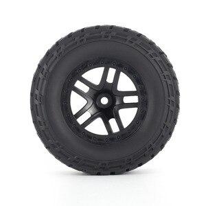 Image 5 - Комплект резиновых колес AUSTAR 110 мм, 4 шт., комплект запасных частей для модели гусеничного автомобиля Traxxas Slash 4X4 RC4WD HPI HSP