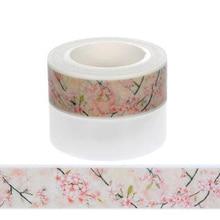 Paper-Tape Flower Diy Scrapbooking Decorative-Sticker Adhesive Office-Supplies School
