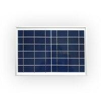1 шт. 6 в 10 Вт стекло ламинированные поликристаллические кремниевых солнечных элементов, солнечные панели с рамкой