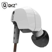 Original QKZ DM200 In Ear Earphones HIFI Headset Stereo Sport Earbuds Super Bass auriculares with Mic Hifi fone de ouvido mp3