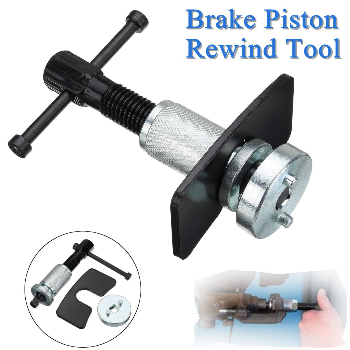 Rear Brake Piston Rewind Tool Disc Caliper Piston Wind Back Kit