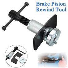 Rear Brake Piston Rewind Tool Disc Caliper Piston Wind Back Kit Rewind Hand Tool Set Dual Pin Pad with Double Adaptor