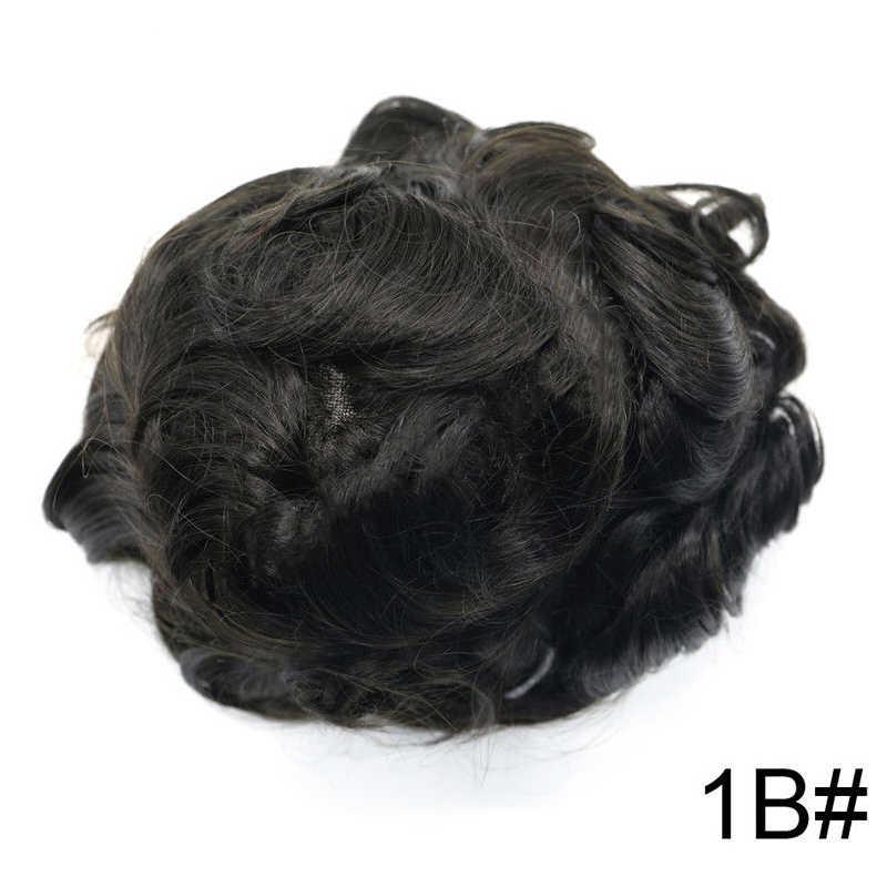 AddBeauty, sistemas de repuesto de cabello Mono de encaje, peluca de cabello de Remy indio de NPU, peluca de cabello de hombre