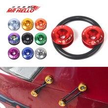 Быстросъемные крепления JDM идеально подходят для передних бамперов, задних бамперов и крышек багажника/люка