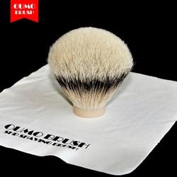 OUMOBRUSH-SHD seda HMW slivertip cepillo de afeitar nudos Punta de gel