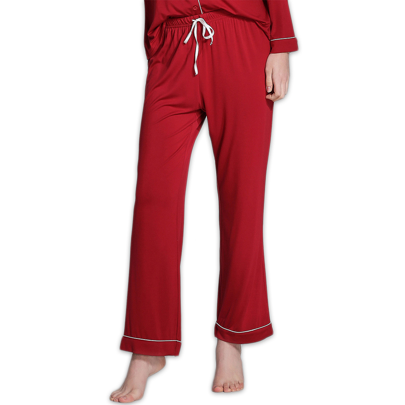 Spring simple Pure color modal women sleep bottoms plus size casual Lounge pants for women Home trousers casual Sleep pants 1