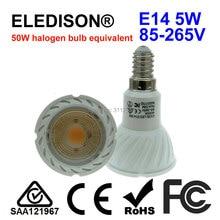 E14 LED Bulb Spot Light 5W Mini Screw Warm White 2700K Natural 4000K Cool 6000K Floor Kitchen Hotel Restaurant