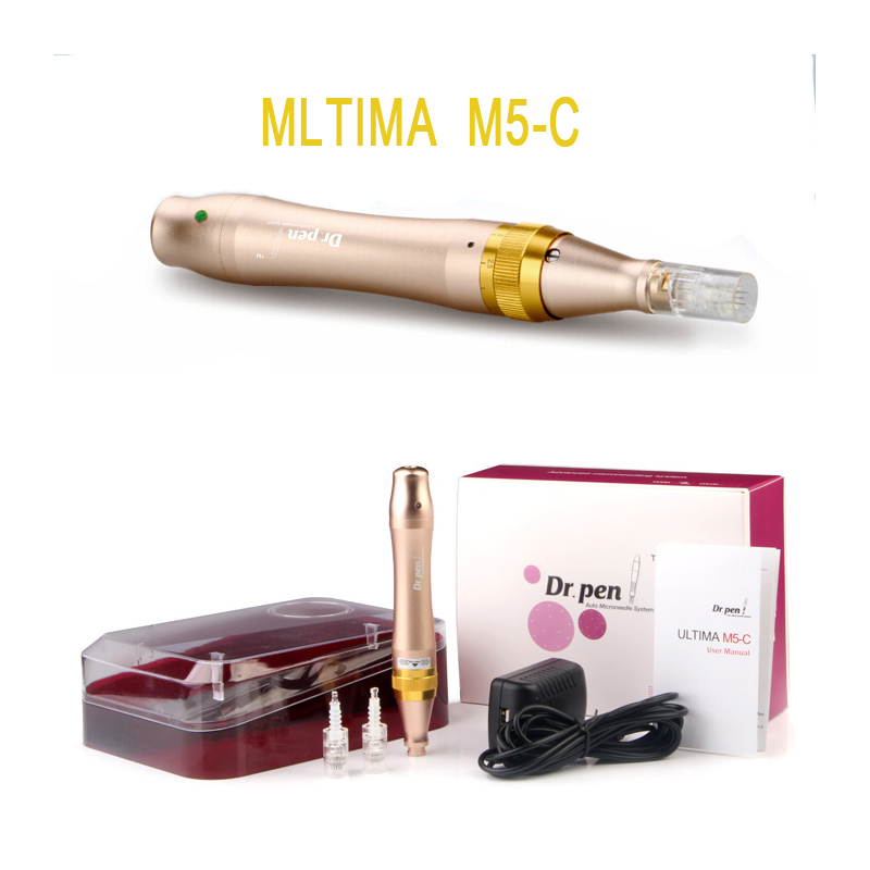 Derma Pen Dr. Pen M5-C Microneedle Pen  Bayonet Prot Needle Cartridges Pen Use With Wired Cable Drpen ULTIMA M5 -C New