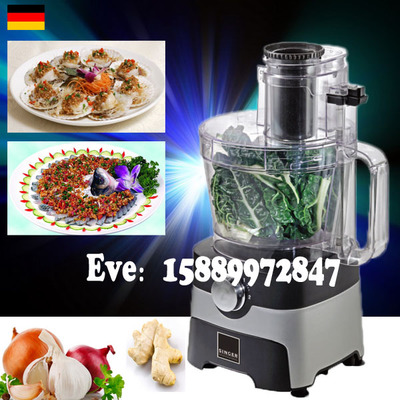 Free shipping food processor mixing slicer grinding chopper chopping machine 6 blades wavelets processor