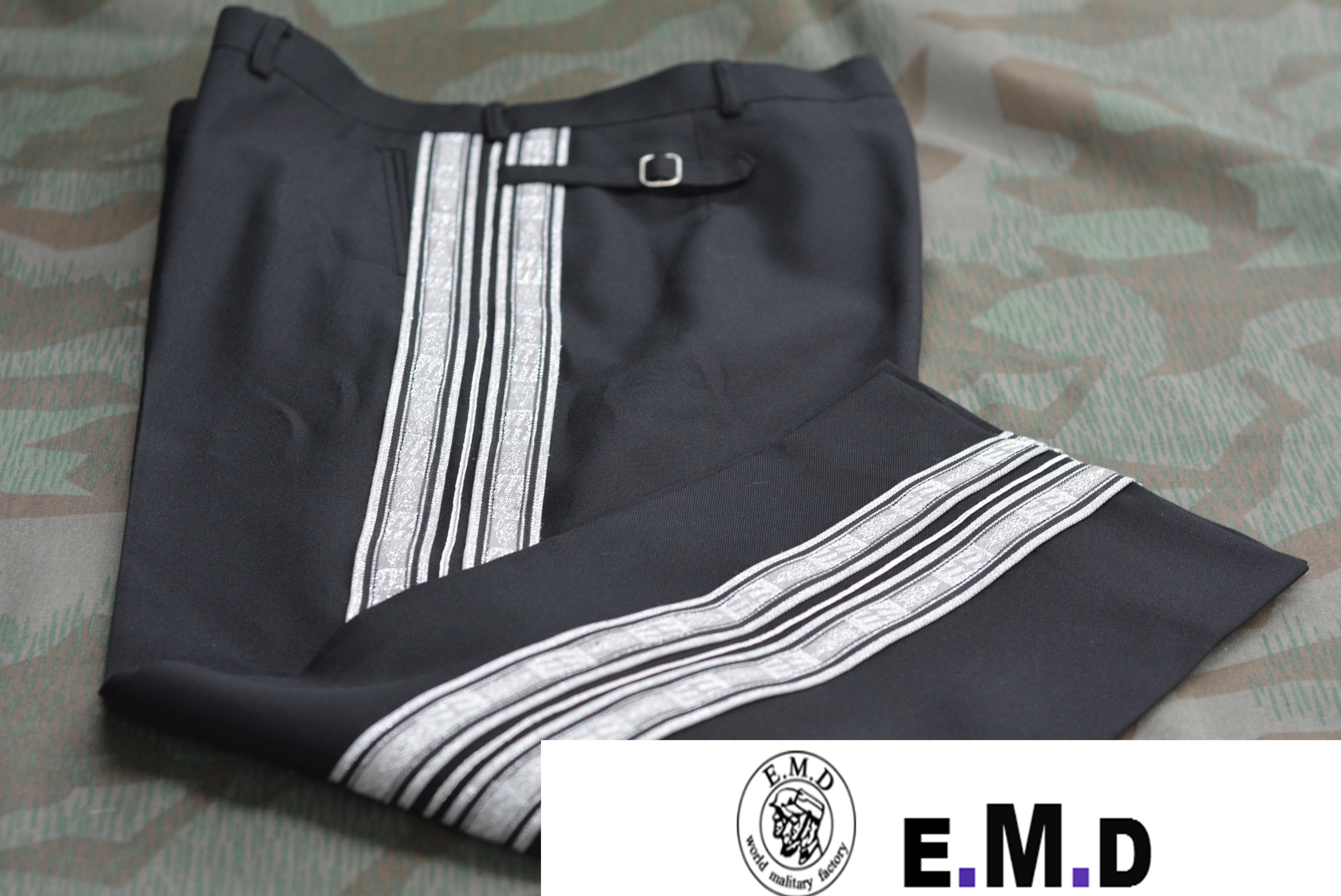 EMD WW2 German, Dress pants, Officer/Twill Wool