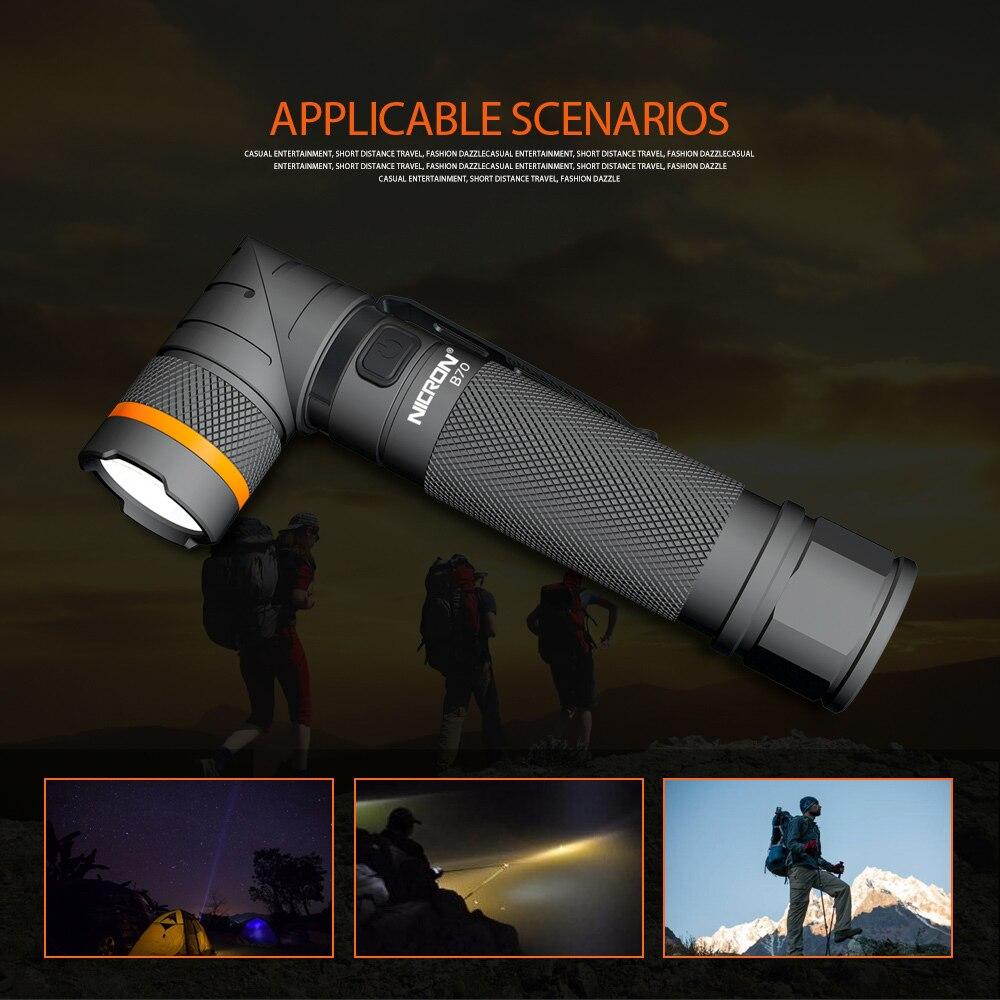 03 Corner Flashlight