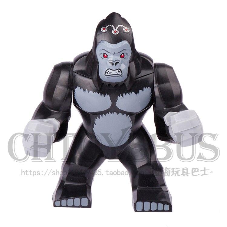 Decool 1pcs Gorilla Grodd Super Heroes Avengers Ultron DARKSEID Assemble minifig font b Model b font