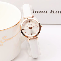 2017 Top Brand Luxury Rose Gold Mini Women Watches Waterproof Fashion Casual Vintage Small Dial Ladies