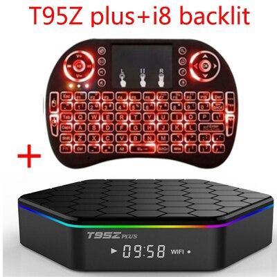 T95Z Plus S912 t95z + Amlogic 2G 16G tv box octa-core cortex-A53 Android6.0 kodi 17.0 los medios de comunicación jugador
