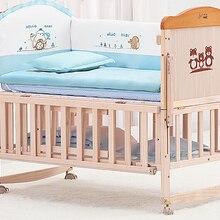Деревянная зеленая детская кровать. Многофункциональная кровать BB. Детская кровать переменный стол. Кровать для игр. С москитной сеткой