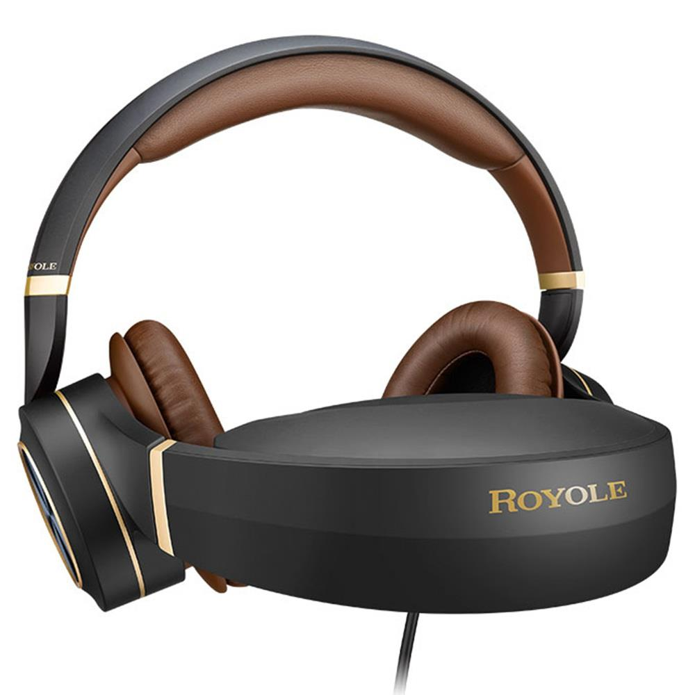 Royole Moon All in One 3D VR Glasses Headset And Virtual Mobile Theater With HIFI Headphones