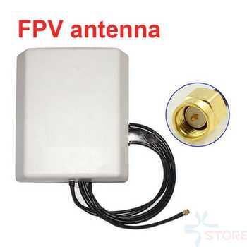 0,8G 0,9G 1,2G 1,3G 14dbi panel de antena de transmisión para vídeo FPV transceptor antena repetidor