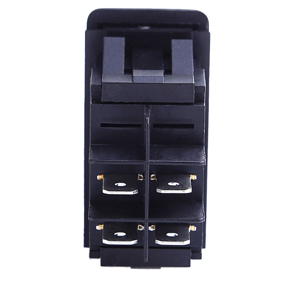 how to wire a 4 pin lighted rocker switch car motorcycle boat 12v 20a car [ 1000 x 1000 Pixel ]