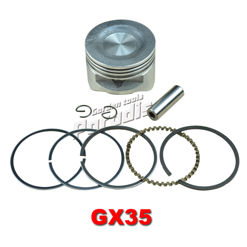 GX35 Engine Piston Kit 39mm with Piston Ring Set for Brush Cutter Trimmers Motor Brushcutters Repalcement Parts xinchang engine 498bt the set of pistons piston rings and piston pins for one engine