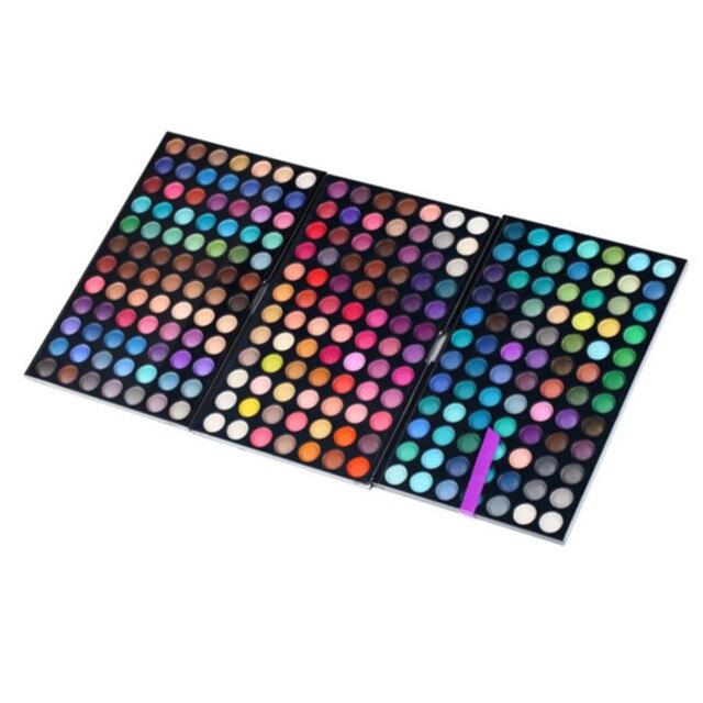 252 cores da Paleta da sombra da marca de maquiagem Shimmer Matte glitter sombra make up kit paleta da sombra de olho cosméticos de beleza