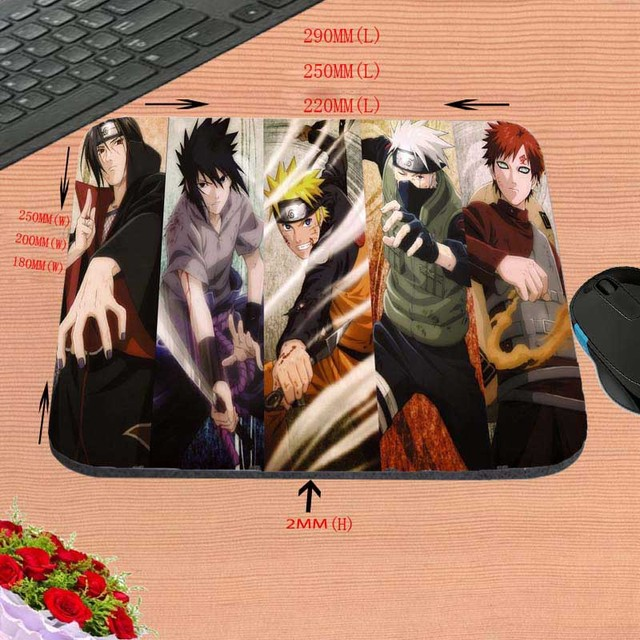 Naruto Mouse Pad Cosplay  Professional Gaming