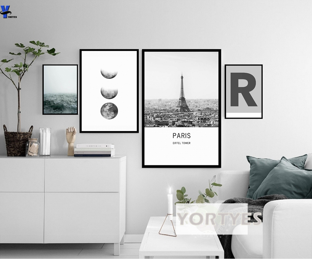 Nordic Style Canvas Prints Wall Art Pictures Home Decor Wall ...