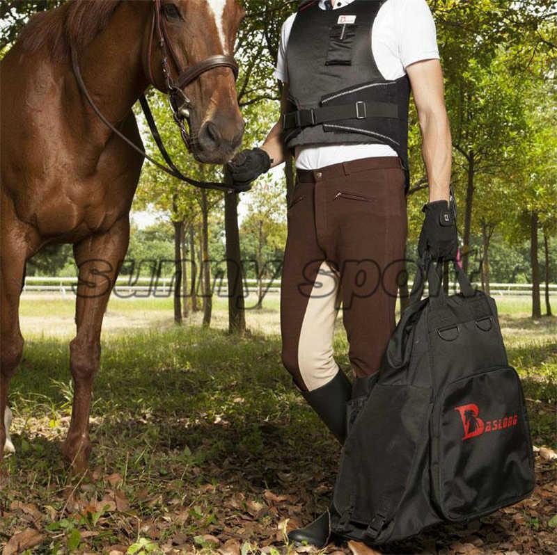 Profesyonel atlı ekipman paketi çantası binici çizmeleri Bagaj Sırt Çantası atlı binici uzak Şövalye çantası