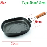 1Pcs Pans Baking Dishes Frying Bakeware Outdoor Kitchen Collapsible DIY Household Healthy Fashion Practical Non stick Portable