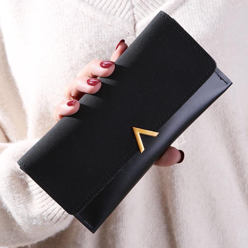 Women wallets Luxury 2019 ladies travel phone checkbook wallet bolsa feminina Fancy Casual Clutch zipper Tassel rfid card wallet