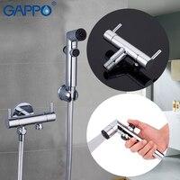 GAPPO Bidets Handheld Shower Bidet Sprayer Muslim Shower Toilet Faucet Bidet Tap Wall Mounted Anal Wash Shower Enema